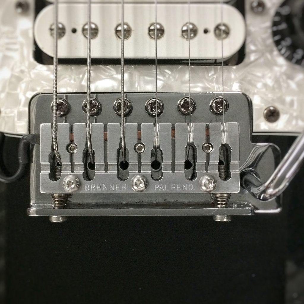 piezo one piezo electric acoustic high hi fidelity tone sustain gang saddle saddles billet milled cnc guitar guitars guitarist standard replacement bridge fender stratocaster trem tremelo strat